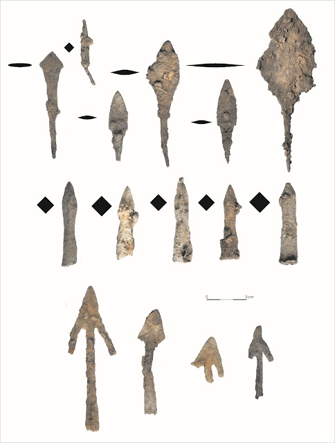 Hundreds of arrowheads and crossbow bolts found in Polish forest