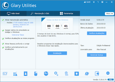 GLARY UTILITIES 5.50.0.70 PORTABLE