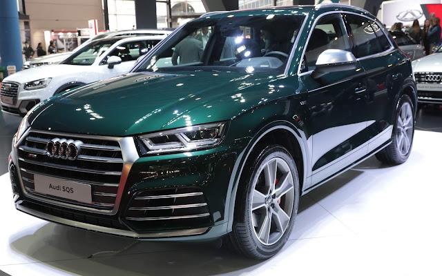 Novo Audi SQ5 2018 - Argentina