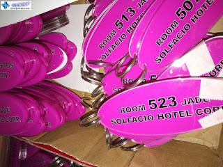 Acrylic Keychains - Solfacio Hotel