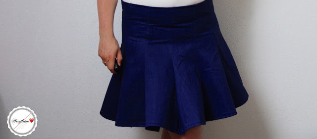 Sommerrock Sew Along Woche 2: Der überarbeitete Schnitt aus Jeans