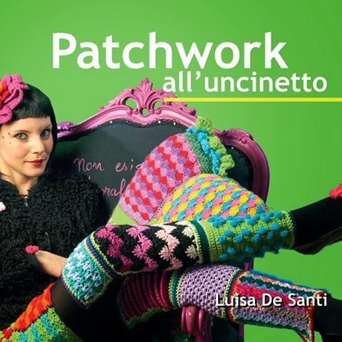 Il libro sul patchwork all'uncinetto