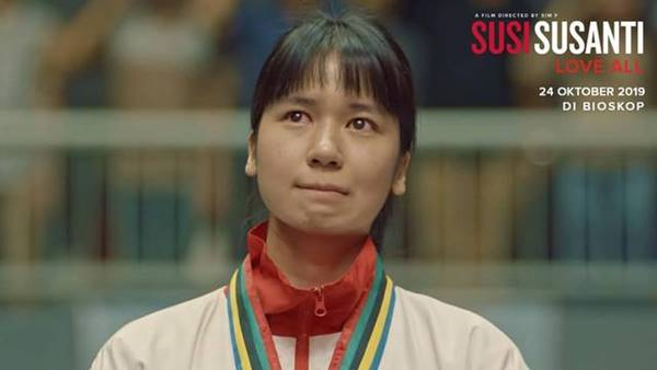 Review Film Susi Susanti Love All (2019), Kisah Legenda Bulutangkis Indonesia