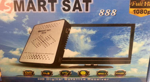 احدث ملف قنوات Smart sat 888 Hd mini بتاريخ شهر 4 -2016