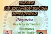 (BEM)Badan eksekutif mahasiswa fakultas hukum  universitas cenderawasih Jayapura papua menyampaikan ucapan selamat natal