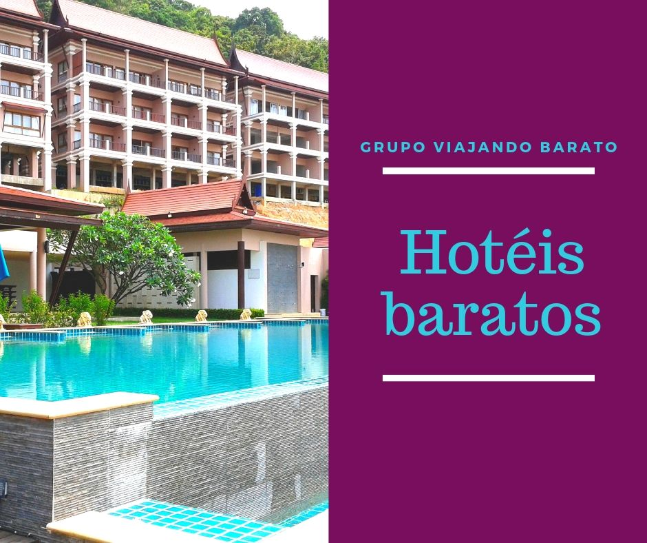 Hotéis baratos pelo mundo