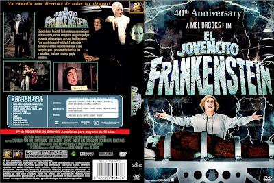 Carátula dvd: El jovencito Frankenstein (1974) Young Frankenstein