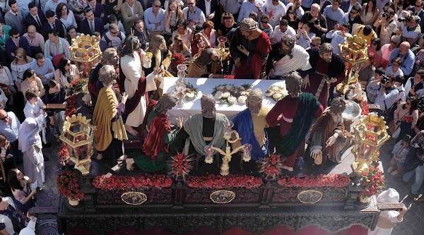 La Cena de Sevilla montará el misterio en los Terceros para la Semana Santa