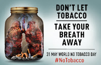 Celebration of Tobacco Day on 31 May 2019
