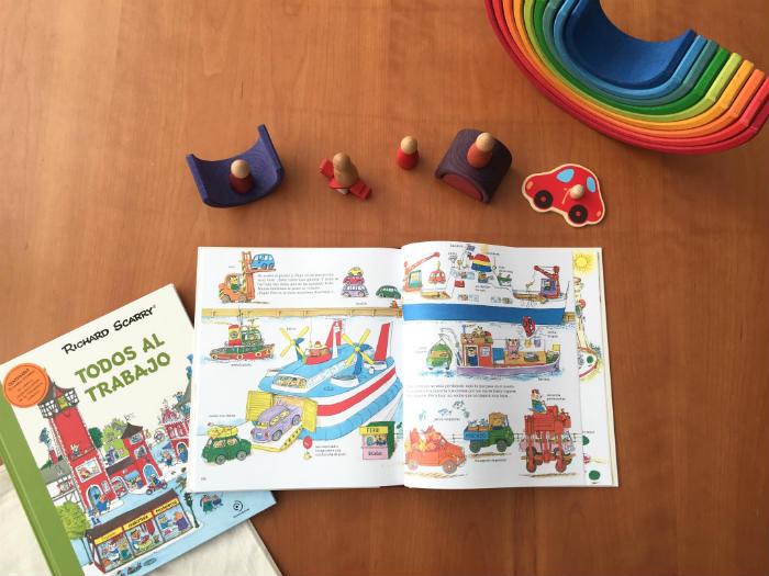 Richard Scarry libros infantiles Todo sobre ruedas