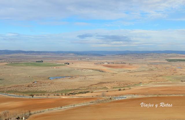 Vista desde el Parque arqueológico de Alarcos