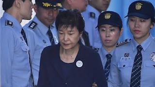 former President Park Geun-hye