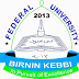 FUBK Academic Calendar for 2019/2020 Academic Session
