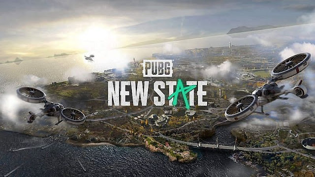 Tampilan Drone PUBG New State