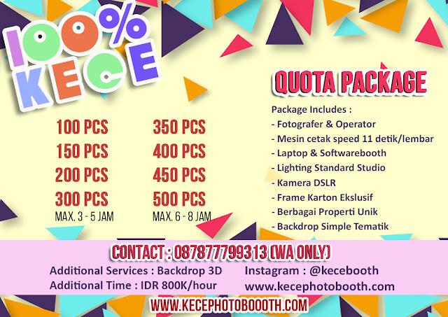 Layanan jasa photobooth Jakarta, Bekasi dan Depok_Kece Photobooth