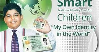 How to get CNIC Identity Card for Children under the age of