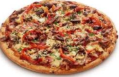 Super Duper Hot Pizza