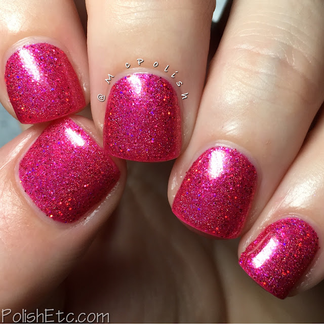 Awesome Sauce Indie Box - The Cake Box - McPolish - Raspberry Dreams by Nvr Enuff Polish