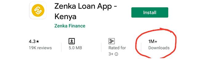 Zenka loan app Kenya
