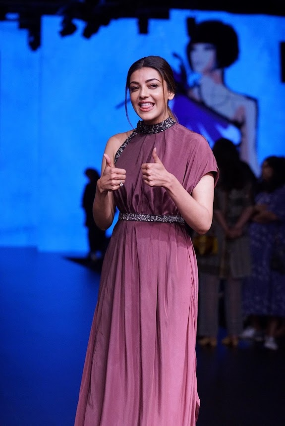 Kajal Aggarwal at Lakme Fashion Week 2018