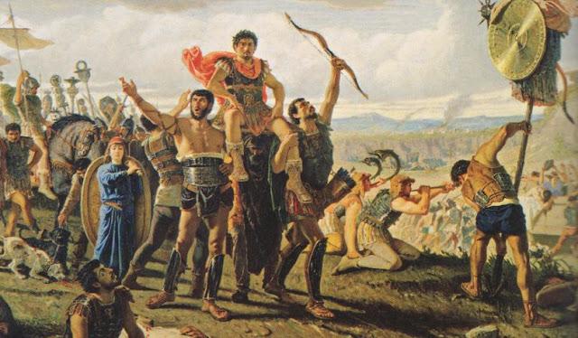 Victory over Cimbri
