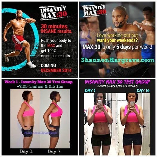 Shannon Hargrave: INSANITY MAX:30