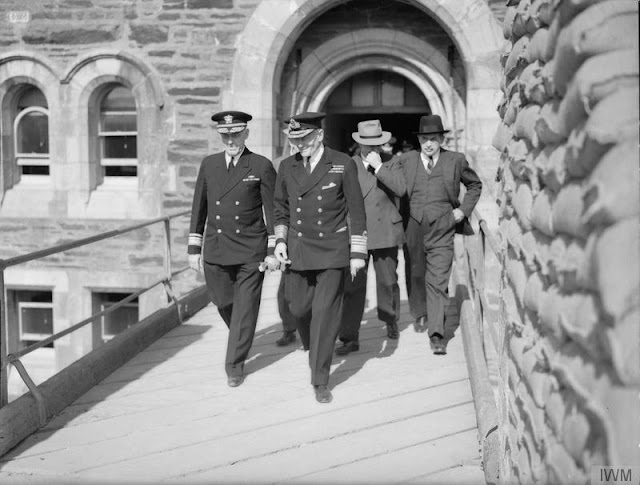 24 August 1940 worldwartwo.filminspector.com Rear Admiral Ghormley London England