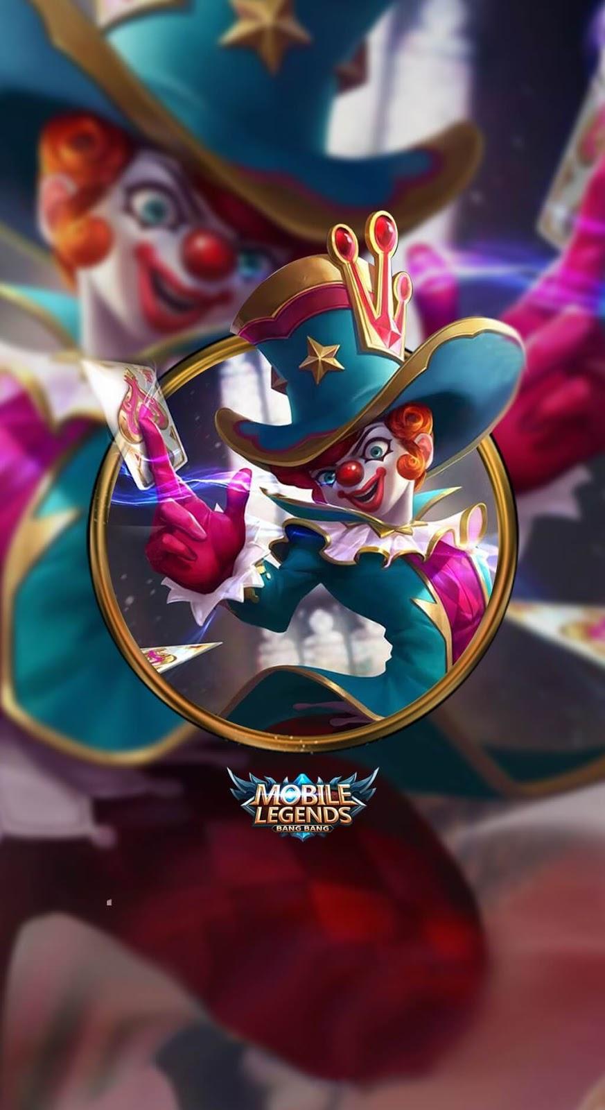 Wallpaper Harley Naughty Joker V2 Skin Mobile Legends HD for Mobile