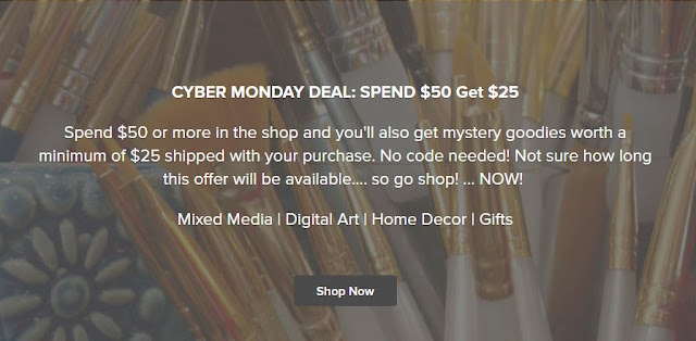 cyber-monday-deal-logo-spend-50 dollars-get-25-dollars-worth-freebies