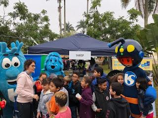 Sabesp atende cerca de 3 mil crianças na Expo Meio Ambiente