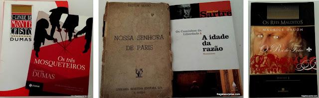 Livros com enredos ambientados em Paris