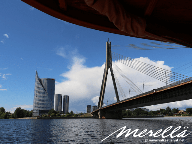 River Cruises - Canal Boats in Riga