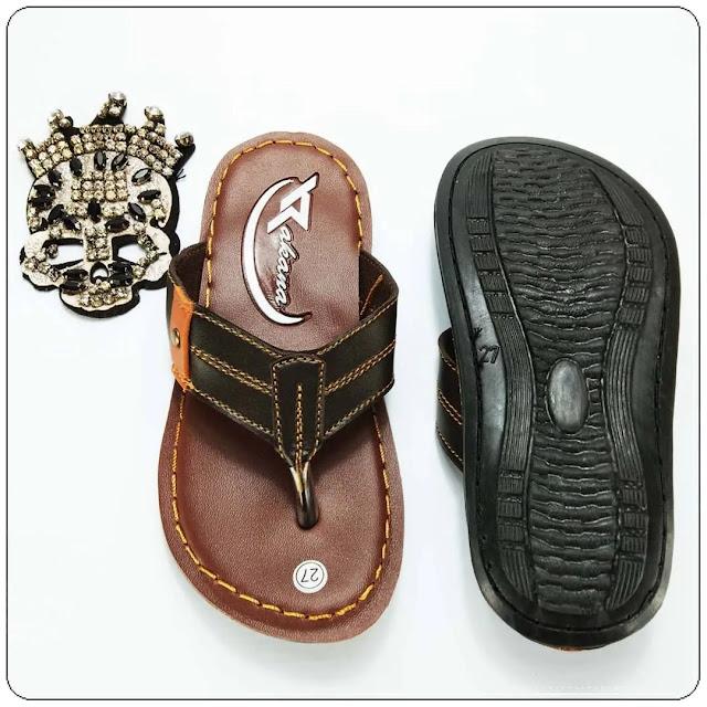 grosirsandalmurah.net - imitasi kulit - Sandal Rakana Sol Anak