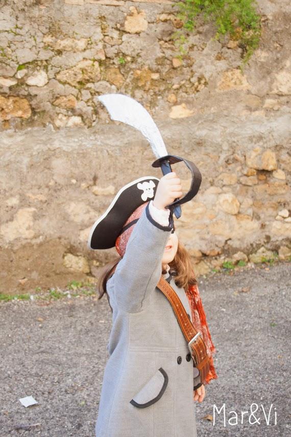 Disfraz de Carnaval de pirata