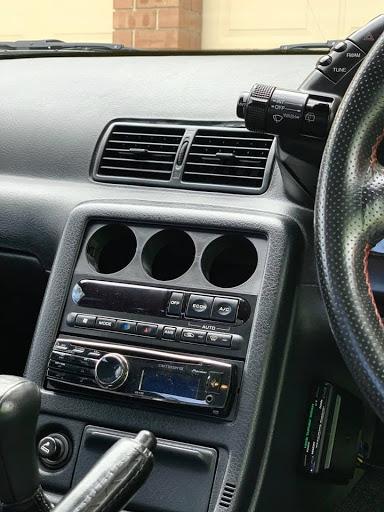 R32 GTR/GTST Single-Din Gauge Holder