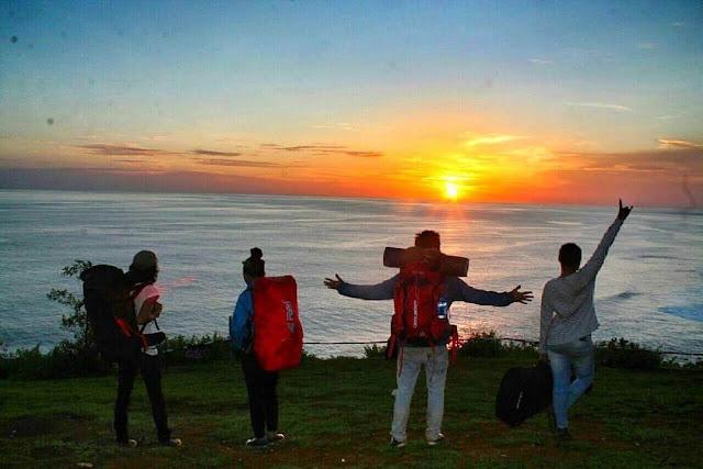 sunset di puncak kosakora