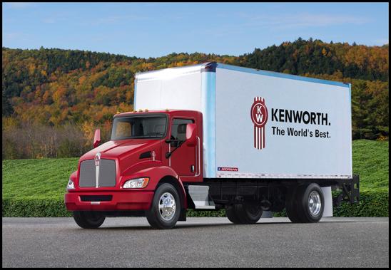 Kenworth T270 with Morgan Van Body