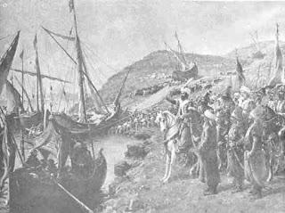 Lukisan Pengepungan Konstantinopel Pimpinan Usmani pimpinan Muhammad II