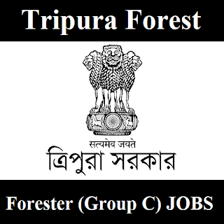 Tripura Forest Department, Tripura, Govt. of Tripura, Forester, 12th, freejobalert, Sarkari Naukri, Latest Jobs, tripura forest logo