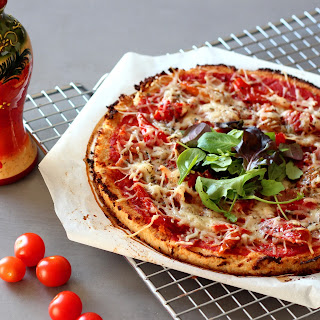 Illsutration Pizza Chou-fleur & Serrano