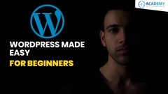 Wordpress for Beginners: Create Portfolio site &online store