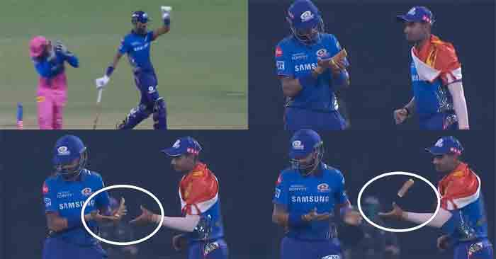 Watch: Krunal Pandya Carries On With His Disgusting On-Field Antics, This Time He Throws Away The Moisturizer Towards Anukul Roy, New Delhi, News, Criticism, Allegation, IPL, Kerala
