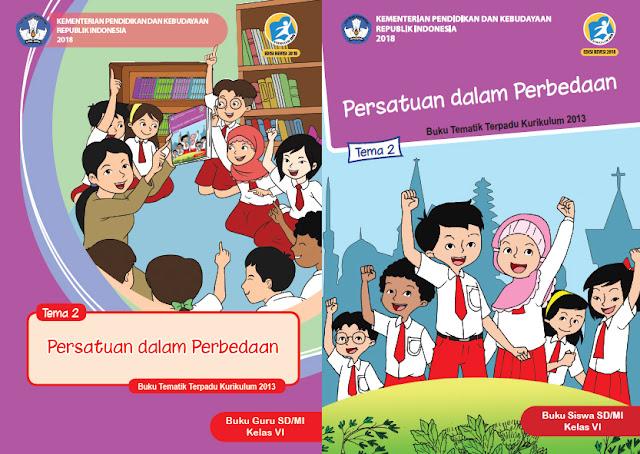File Pendidikan Materi Pelajaran Kelas 6 Tema 2 SD/MI Kurikulum 2013 Edisi Revisi 2018 Terbaru