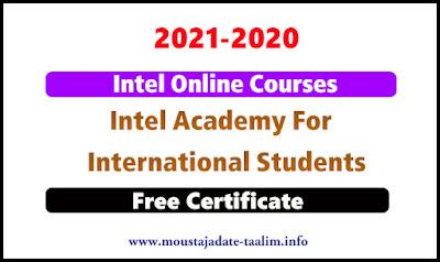 دورات إنتل عبر الإنترنت 2020 من أكاديمية إنتل للطلاب الدوليين