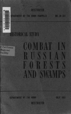Combat in Russian Forests and Swamps, July 1951