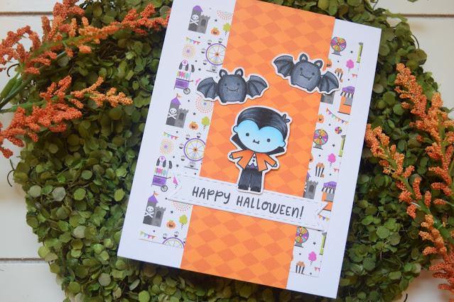 Doodlebug Design Halloween Candy Carnival 6x6 Paper Pad Card