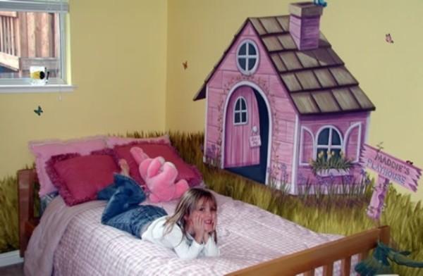 Desain unik kamar tidur anak laki laki dan perempuan ...