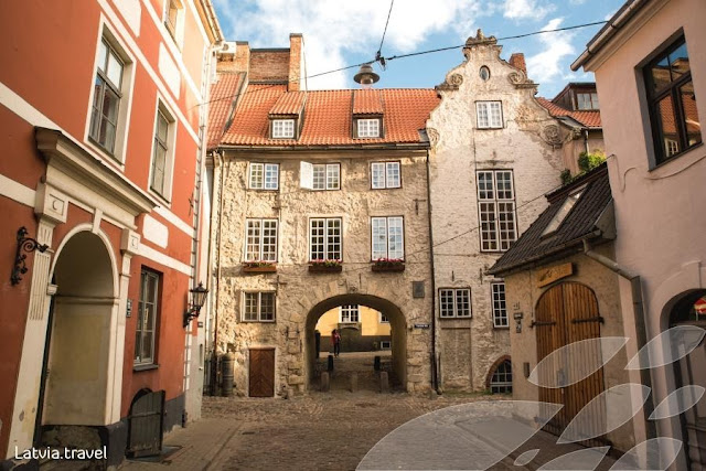 Old town of Riga
