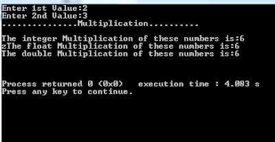 c++ simple pointer multiplication example source code