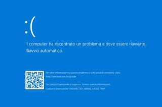 analisi crash bsod